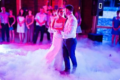 Effet La machine à fumée lourde DJ mariage