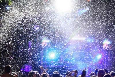 Effet Machine à neige DJ Mariage